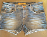 JOE'S MEDIUM WASH CUTOFF SHORTS - decadenceboutique - 2