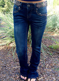 GRACE IN L.A. BOHEMIAN BOOTCUT JEANS - decadenceboutique - 3