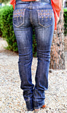 GRACE IN L.A. SHOOTING ARROW EASY STARAIGHT JEANS - decadenceboutique - 3