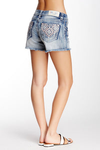 GRACE IN L.A. BLUSHING TRIBE SHORTS - decadenceboutique - 1