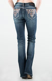 GRACE IN L.A RUSTIC GLAM EASY BOOTCUT JEANS - decadenceboutique - 1