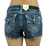 L.A. Idol Medium Wash Classic Shorts