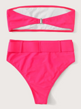 BARBIES BEACH PARTY HIGH WAIST 2PC BIKINI