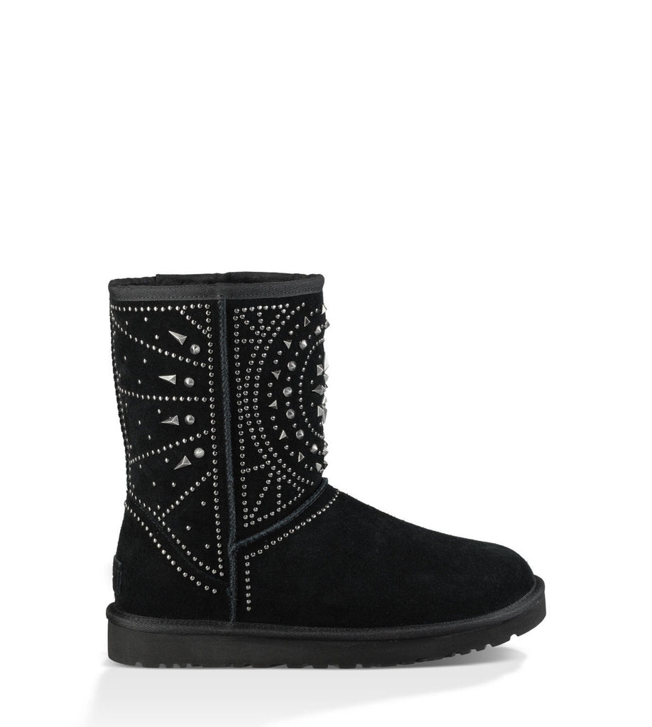 UGG FIORE DECO STUDS IN BLACK - decadenceboutique - 1