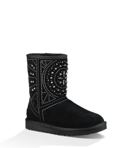 UGG FIORE DECO STUDS IN BLACK