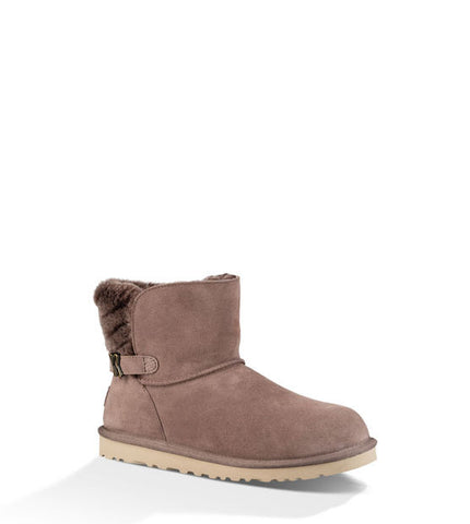 UGG ADRIA SHORT BOOTS IN STORMY GREY