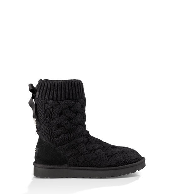 UGG ISLA SHORT BOOTS IN BLACK - decadenceboutique - 1