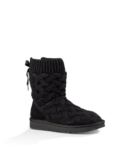 UGG ISLA SHORT BOOTS IN BLACK