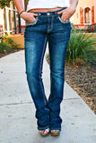 GRACE IN L.A. HIGH PEAKS EASY BOOTCUT JEANS - decadenceboutique - 2
