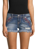 MISS ME ISLAND BOUND CUT OFF SHORTS