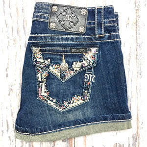 MISS ME JP8288H SHORTS JEANS - decadenceboutique