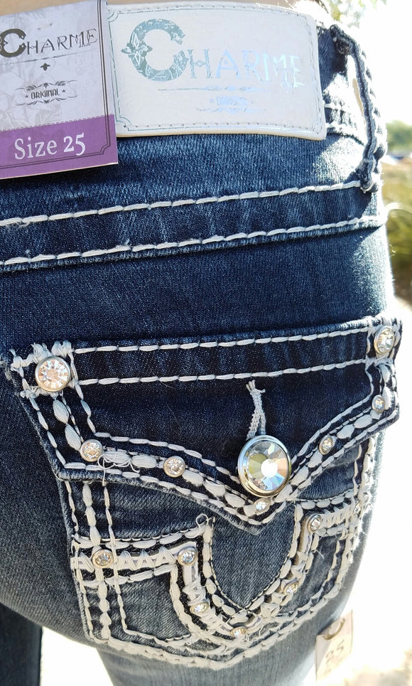 CHARMED CLASSIC BOOTCUT JEANS - decadenceboutique - 1