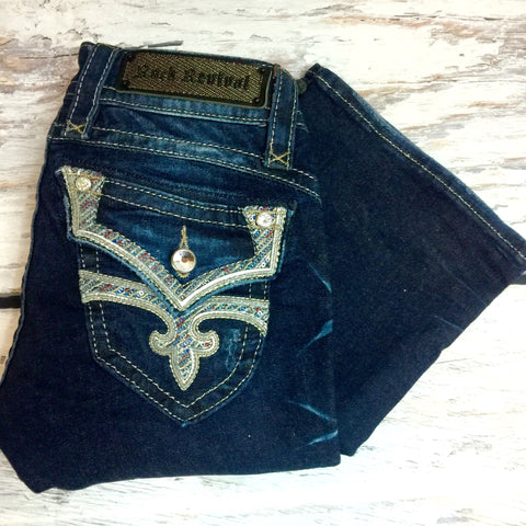 ROCK REVIVAL STEPHANIE B51 BOOTCUT JEANS