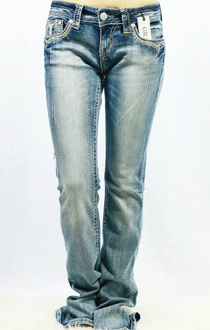 GRACE IN L.A MALDIVES BOOTCUT JEANS