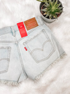 Levi's Wedgie Fit Cut Off Shorts
