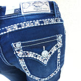 GRACE IN L.A. SKIPPING STONES BOOTCUT JEANS - decadenceboutique - 1