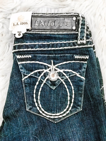 *FINAL SALE* L.A. IDOL BLING CROSS SIZE 0