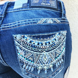 GRACE IN L.A. MYAN MYTHS BOOTCUT JEANS - decadenceboutique - 1