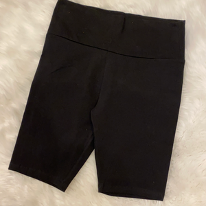 Chasing the Day Biker shorts Black
