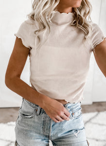 HAVE IT ALL MOCK NECK TOP