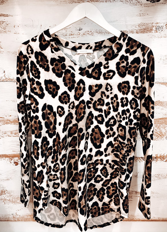 WILD SIDE LONG SLEEVE TOP