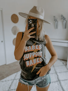 Babes Support Babes Tank
