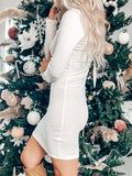 UNDER THE MISTLETOE DRESS