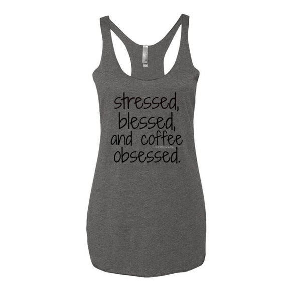 COFFEE OBSESSED TANK - decadenceboutique - 1
