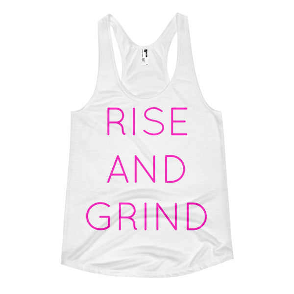 RISE AND GRIND TANK - decadenceboutique