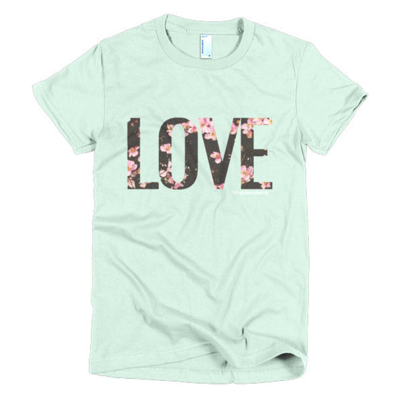 FLORAL LOVE TEE - decadenceboutique - 1