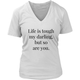 LIFE IS TOUGH TEE - decadenceboutique - 2