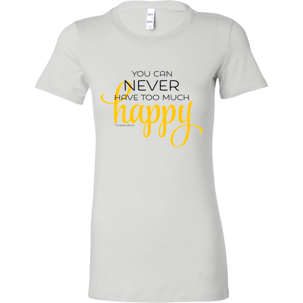TOO MUCH HAPPY TEE - decadenceboutique - 1