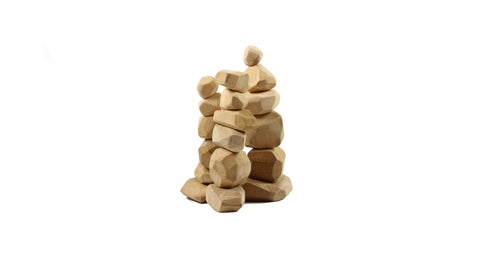 Wood Stacking Stones