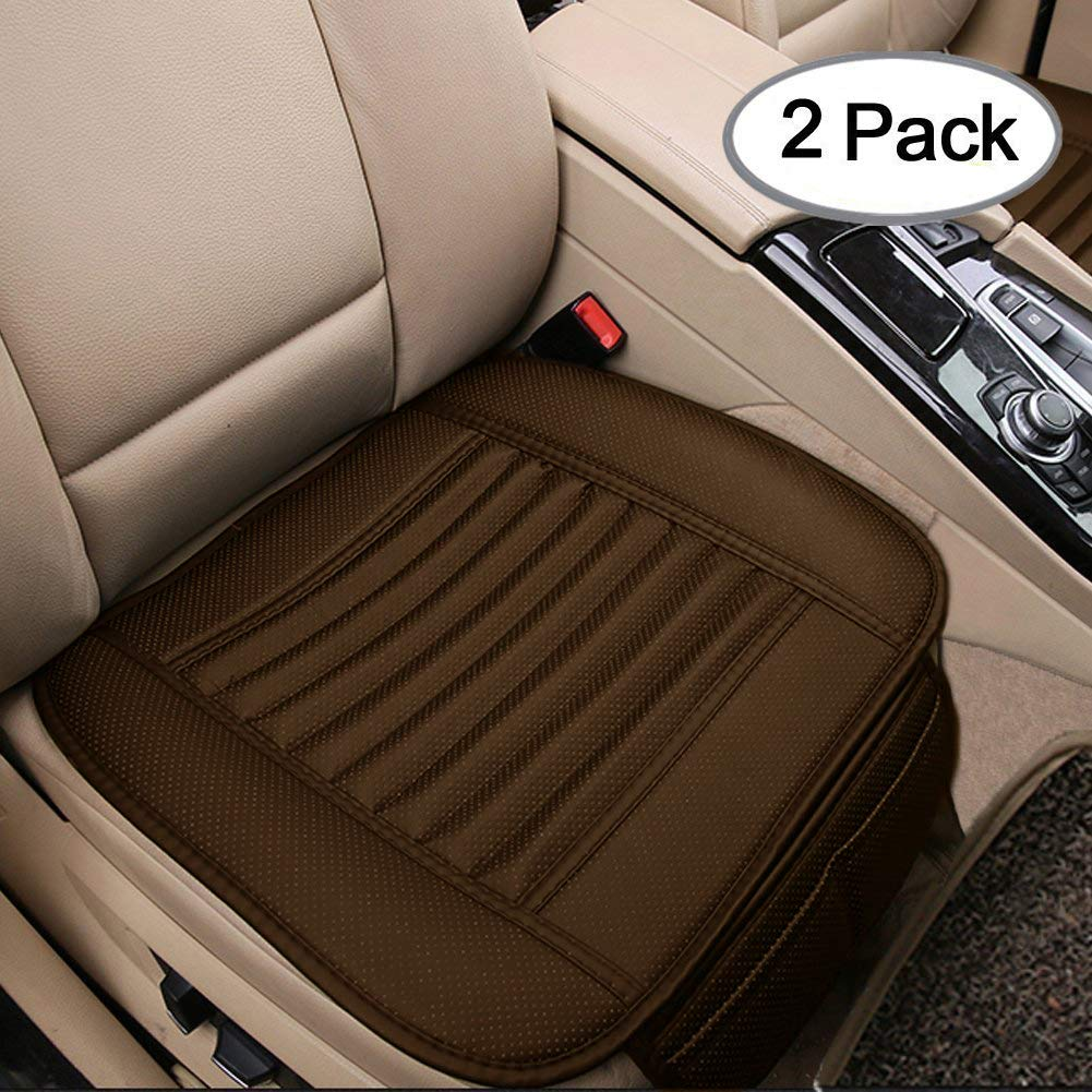 Pleasant Big Ant Seat Covers Unique Comfortable Leatherette Car Seat Covers With 2 Detachable Headrests Fit Most Car Truck Suv Or Van 2Pcs Black Gamerscity Chair Design For Home Gamerscityorg