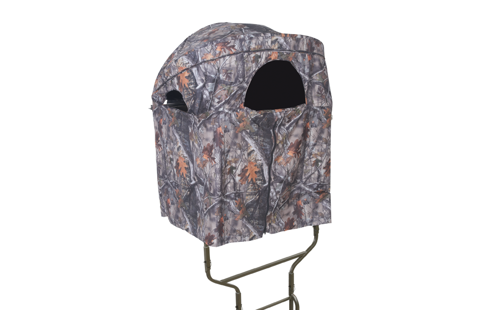 millennium b1 blind for ladder tree stands with front opened