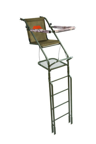 Millennium L100 21FT single ladder tree stand