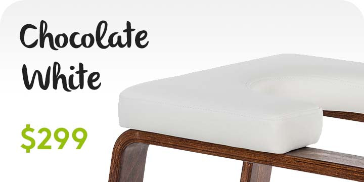 FeetUp® Trainer™ - Chocolate, White