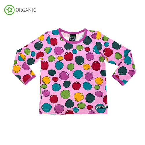 Villervalla Bubbles Long Sleeve T-Shirt - Lotus