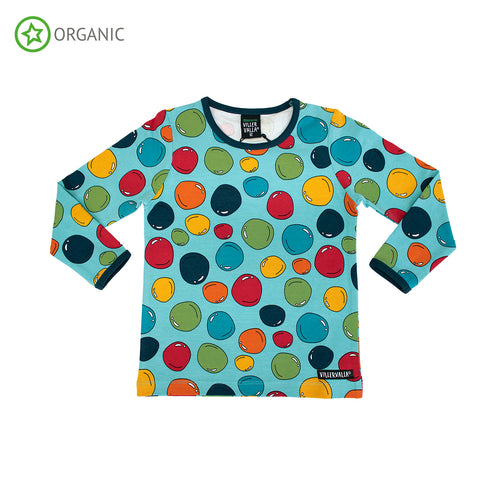 Villervalla Bubbles Long Sleeve T-Shirt - Rill