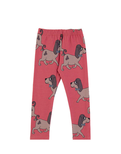 Dear Sophie Doggie Red Leggings