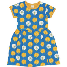 Load image into Gallery viewer, Maxomorra Dandelion Short Sleeve Spin Dress