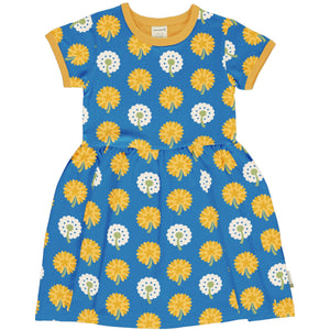 Maxomorra Dandelion Short Sleeve Spin Dress