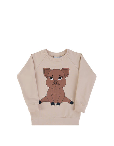 Dear Sophie Piggy Light Sweatshirt