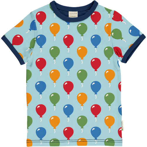 Maxomorra Balloon Short Sleeve TShirt