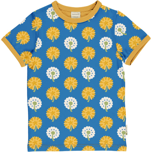 Maxomorra Dandelion Short Sleeve Top