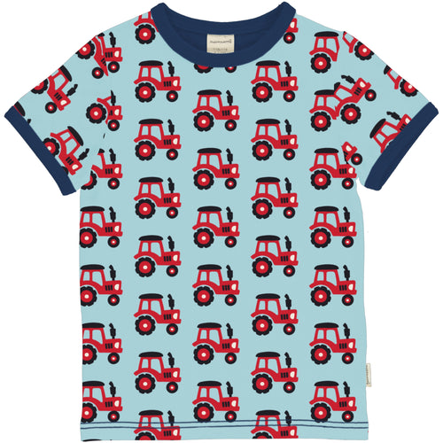 Maxomorra Tractor Short Sleeve Top