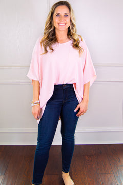 All the Right Things Blush Tee
