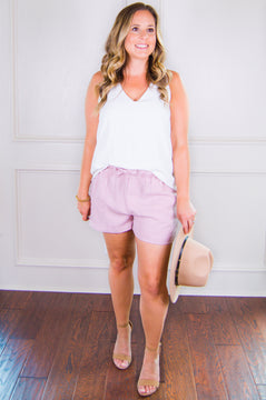 Feel So Right Tencel Shorts- Maeve