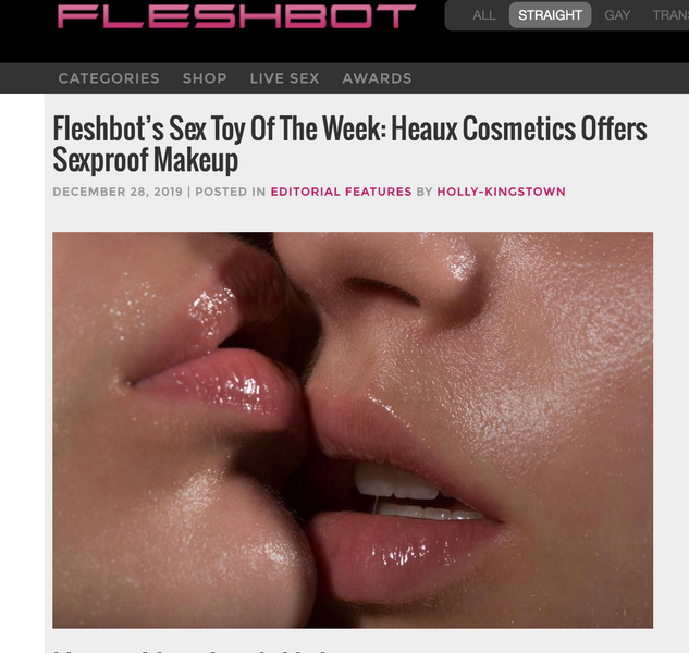 We're Fleshbot's Sex Toy Of The Week 12/28/19