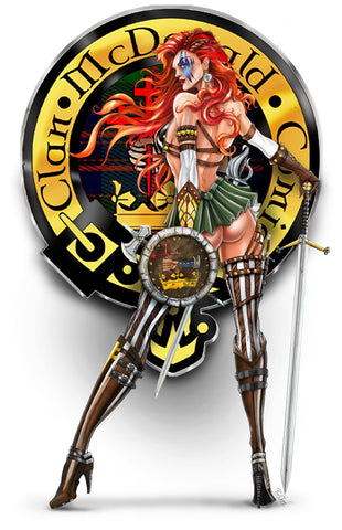 "CMC EXCLUSIVE WHITE WIDOW #1  'BRAVEHEART EDITION""  METAL COVER"